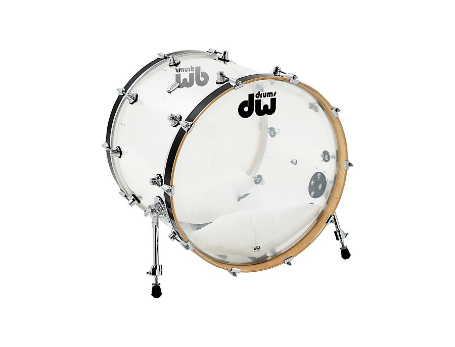 DW Collectors Series Clear Acrylic with Gold Hardware