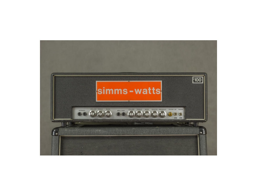 Rosewell Custom 100W head (Simms-Watts replica)