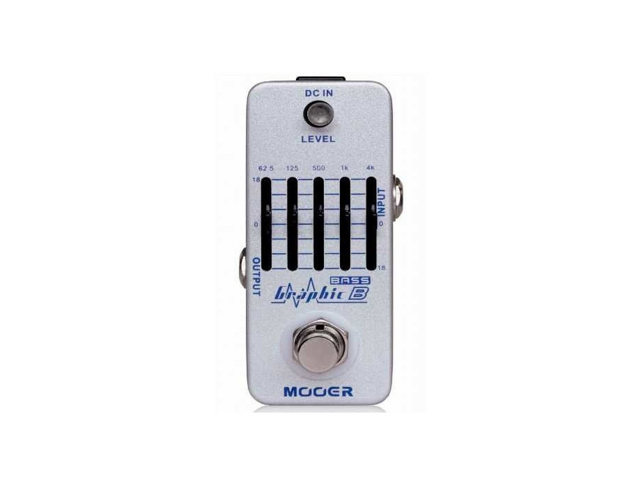 Mooer MEQ2 Micro Graphic Bass EQ Pedal