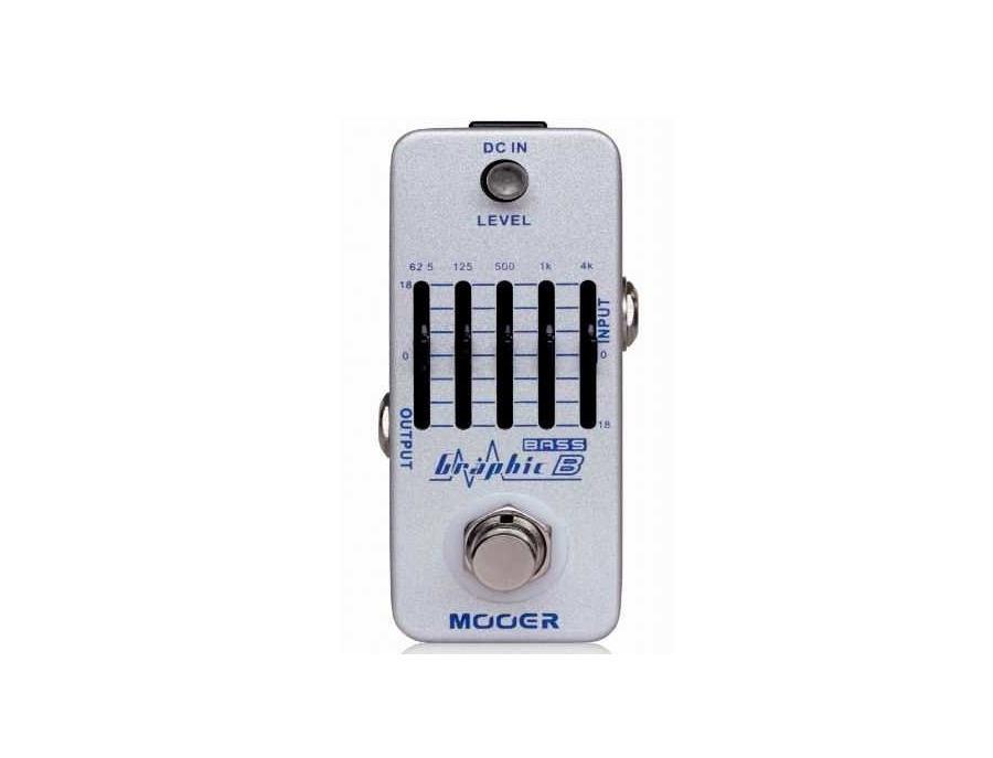 Mooer MEQ2 Micro Graphic Bass EQ Pedal