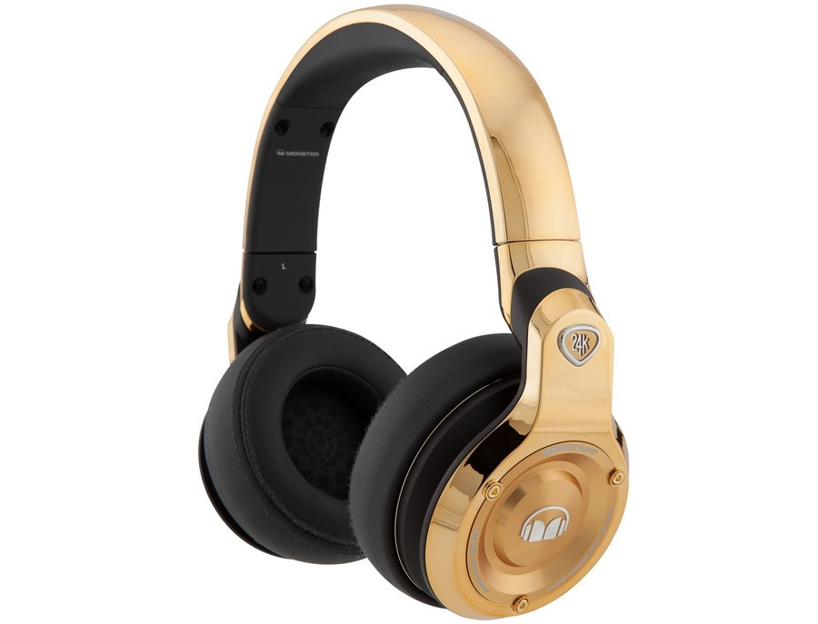 Monster 24k Over-Ear Headphones