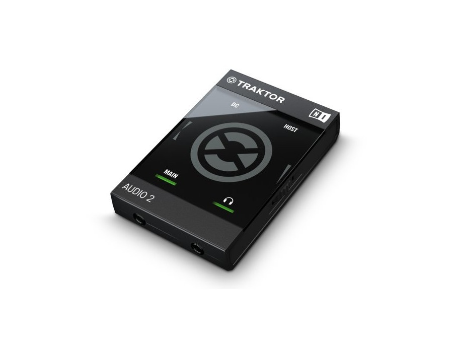 Native Instruments Traktor Audio 2 DJ Audio Interface