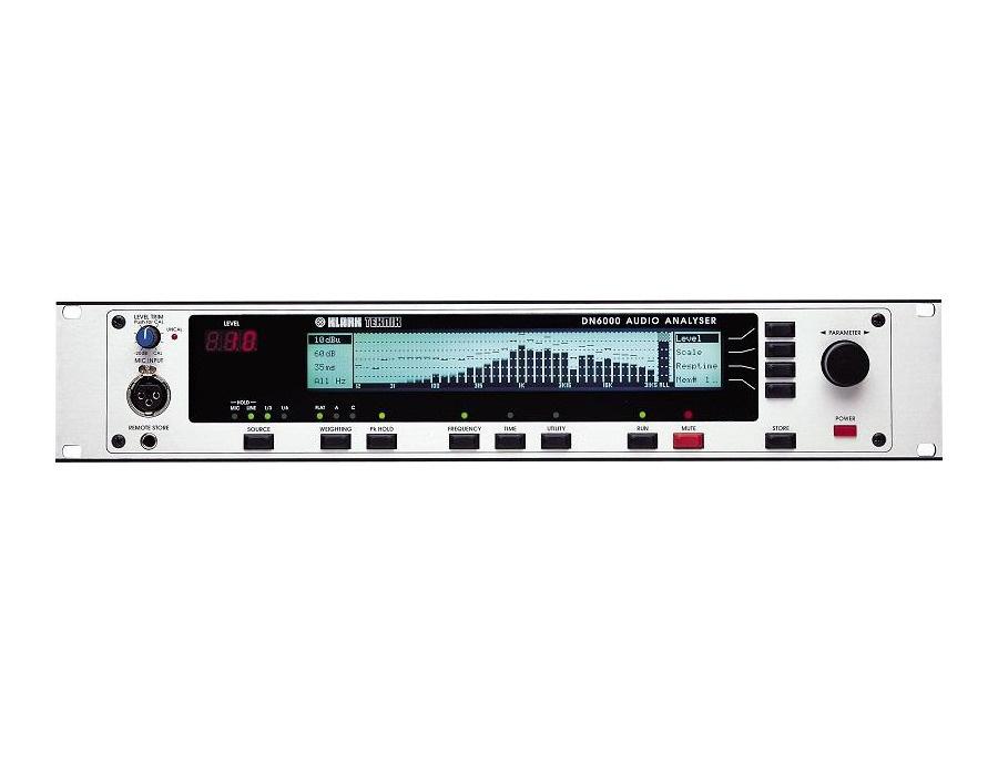 Klark-Teknik DN6000 Audio Analyser