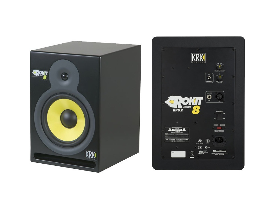 Krk rokit 8 rpg2 studio monitor xl
