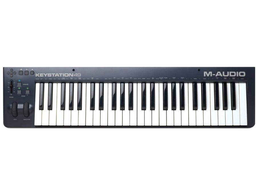 M audio keystation49 midi controller xl