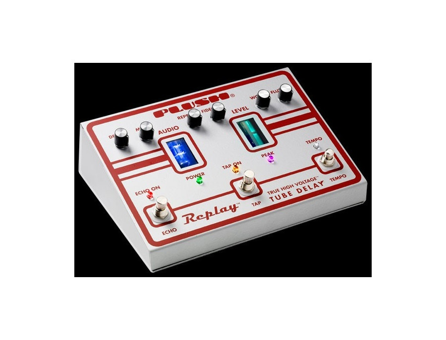 Plush Replay True High Voltage Tube Delay Pedal