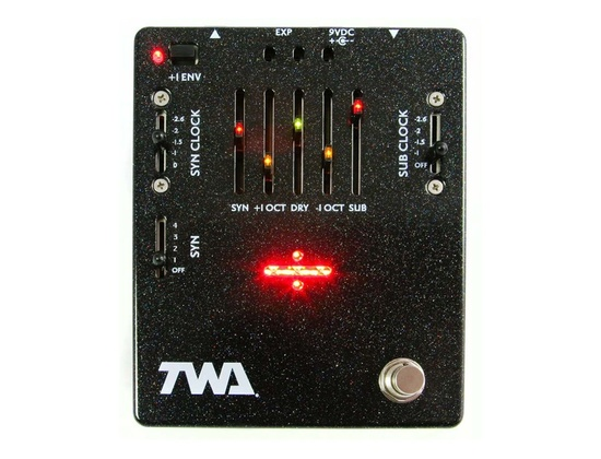 TWA GD-02 Great Divide Analog Synth Octave Pedal