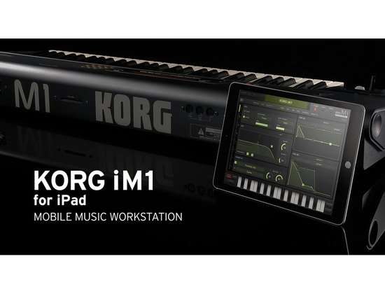 KORG iM1 for iPad MOBILE MUSIC WORKSTATION