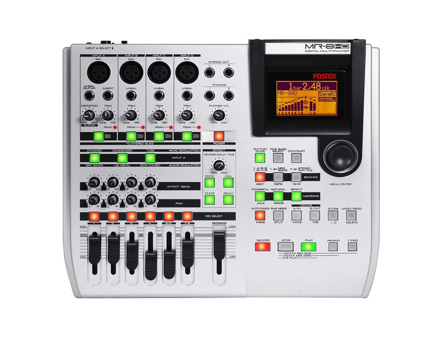 Fostex MR-8 HD Digital Multitracker