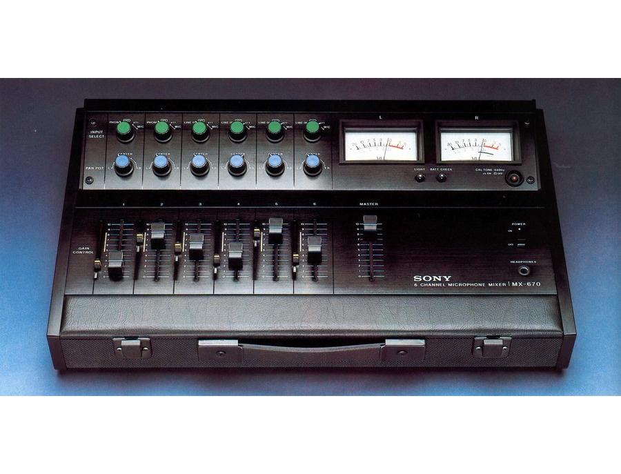 Sony mx 670 xl