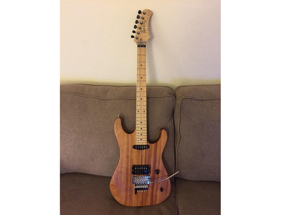 Bootleg Guitars Scotti Hill Model