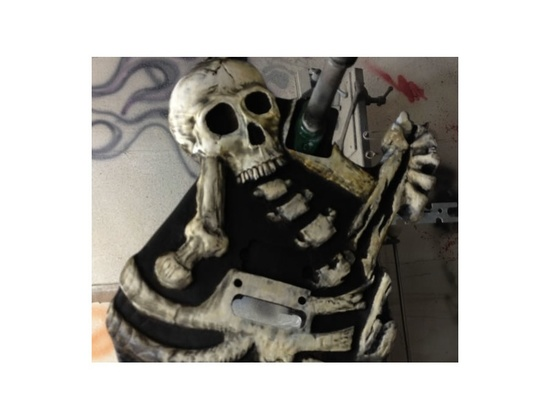 Mr Scary Guitars By George Lynch Dem Bones