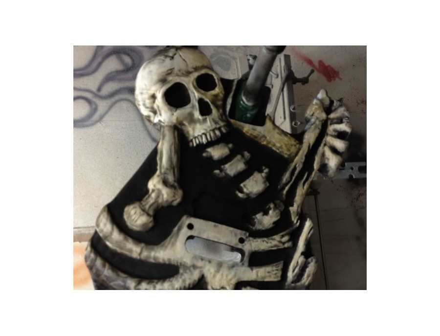 Mr Scary Guitars By George Lynch Dem Bones