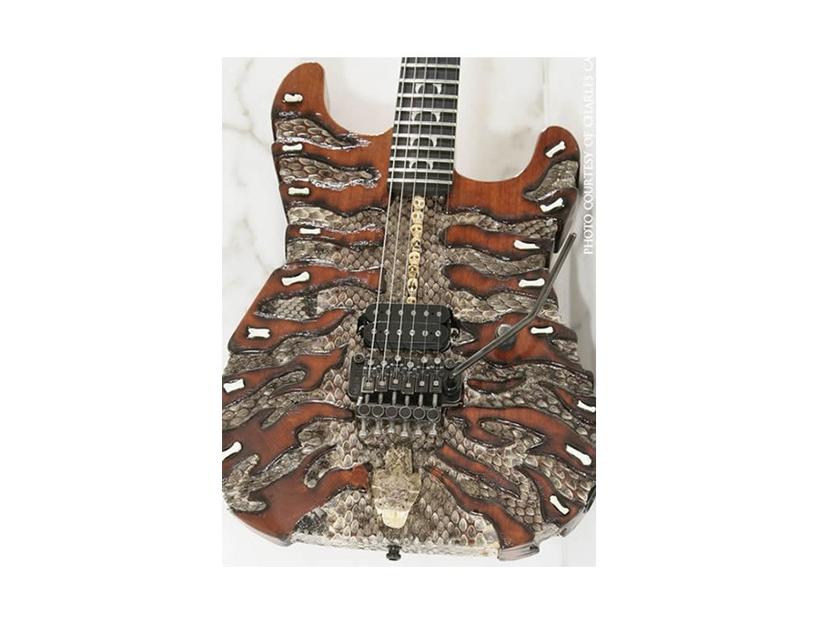 Mr Scary Guitars By George Lynch Snake Hunter