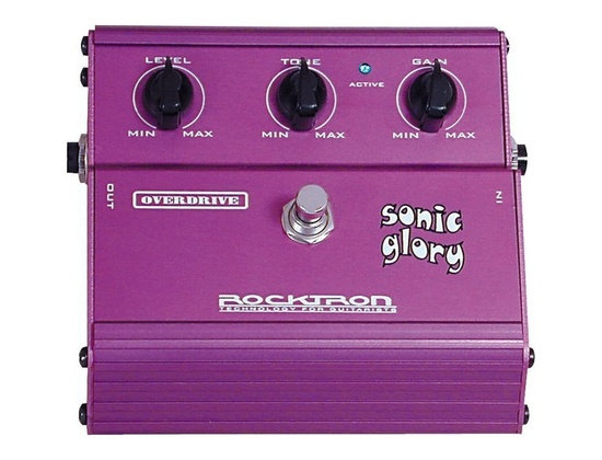 Rocktron Sonic Glory Overdrive Pedal
