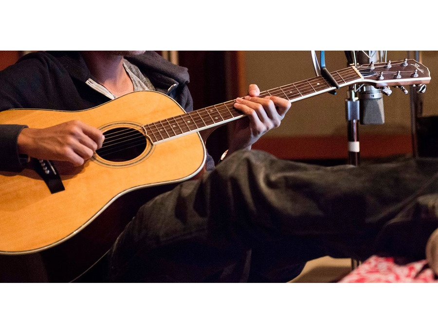 Fender Custom Acoustic Guitar