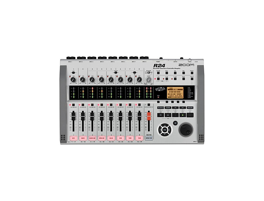 Zoom r24 multi track recorder xl