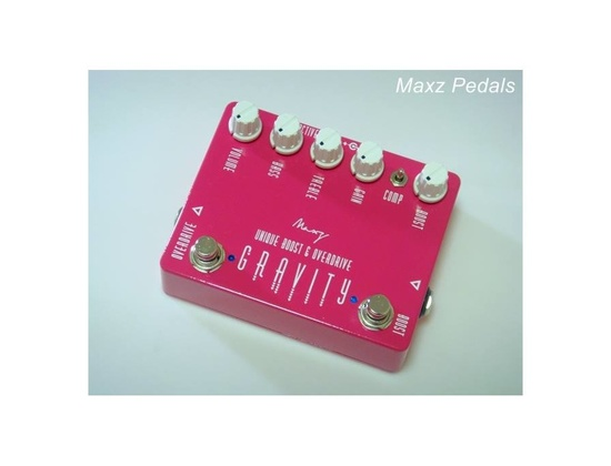 Maxz Pedal Gravity unique boost and overdrive