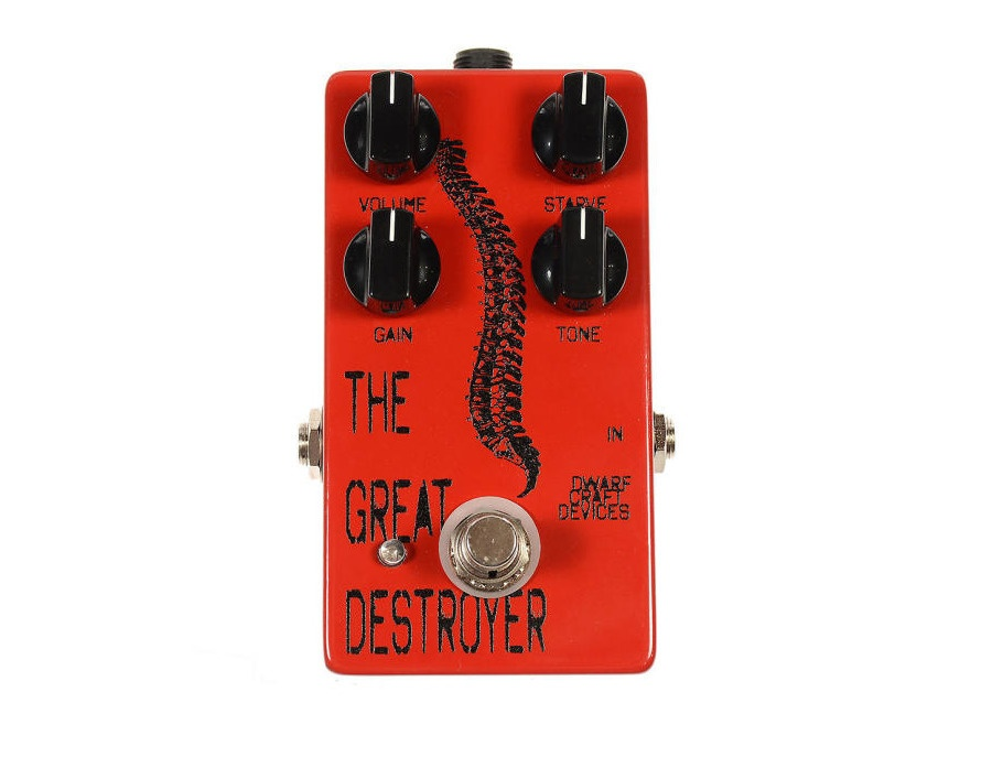 Dwarfcraft Devices The Great Destroyer Rhythmic Oscillation and Industrial Fuzz