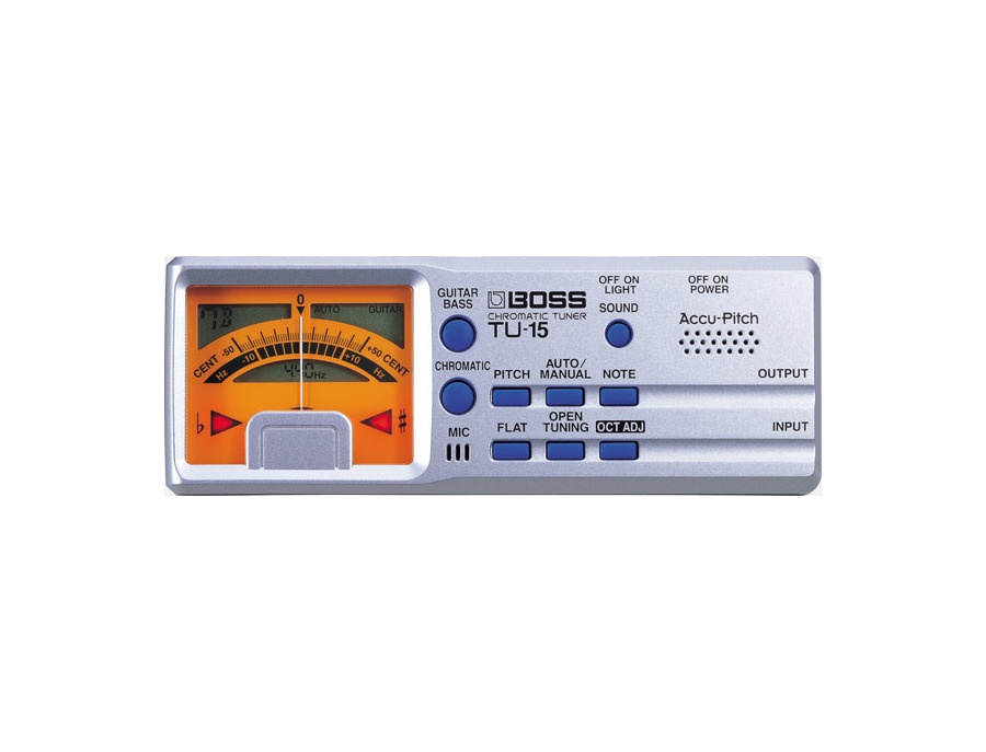 BOSS TU-15 Chromatic Tuner
