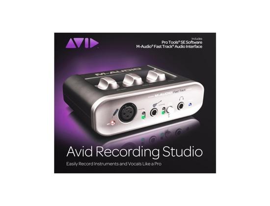 Avid Recording Studio (M-Audio Fast Track + Pro Tools SE)
