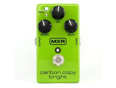 MXR Carbon Copy Bright Analog Delay
