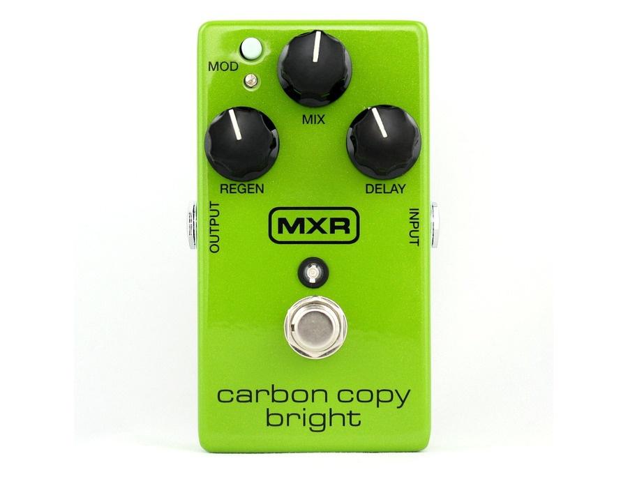 MXR Carbon Copy Bright Analog Delay