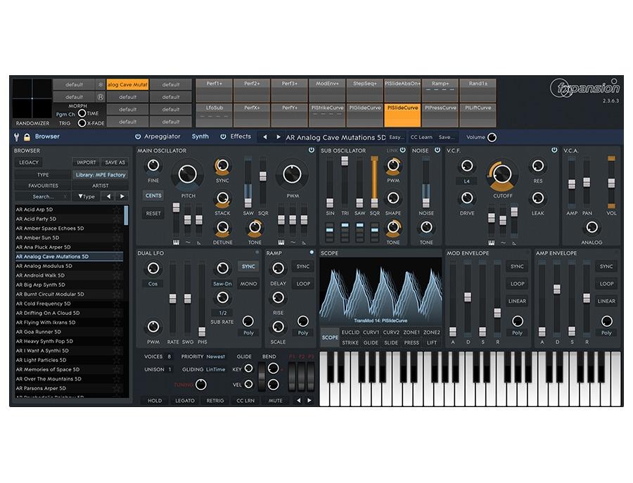 Serum synthesizer
