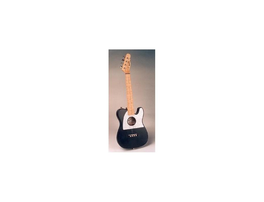 Tululele earnest s soprano telecaster shaped ukelele xl