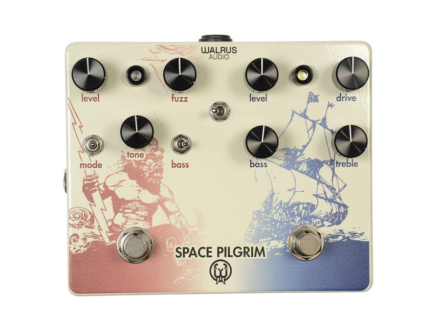 Walrus Audio Space Pilgrim Overdrive/Fuzz v2