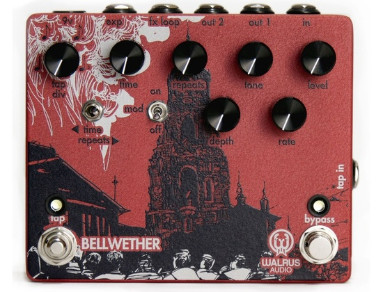 Walrus Audio Bellwether Analog Delay with Tap Tempo
