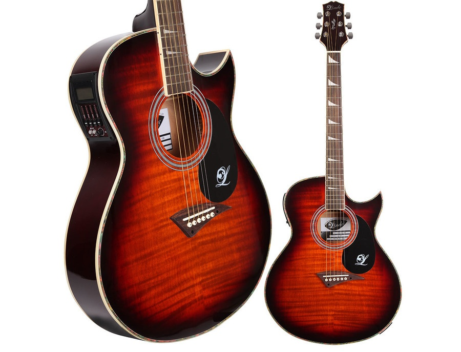 Lindo SLIM Sunburst ORG-SL Electric Acoustic