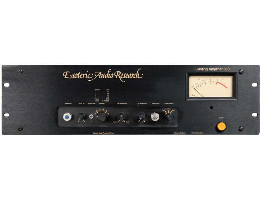 esoteric audio research EAR-660