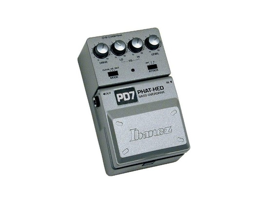Ibanez PD-7 Phat-Hed Bass Overdrive