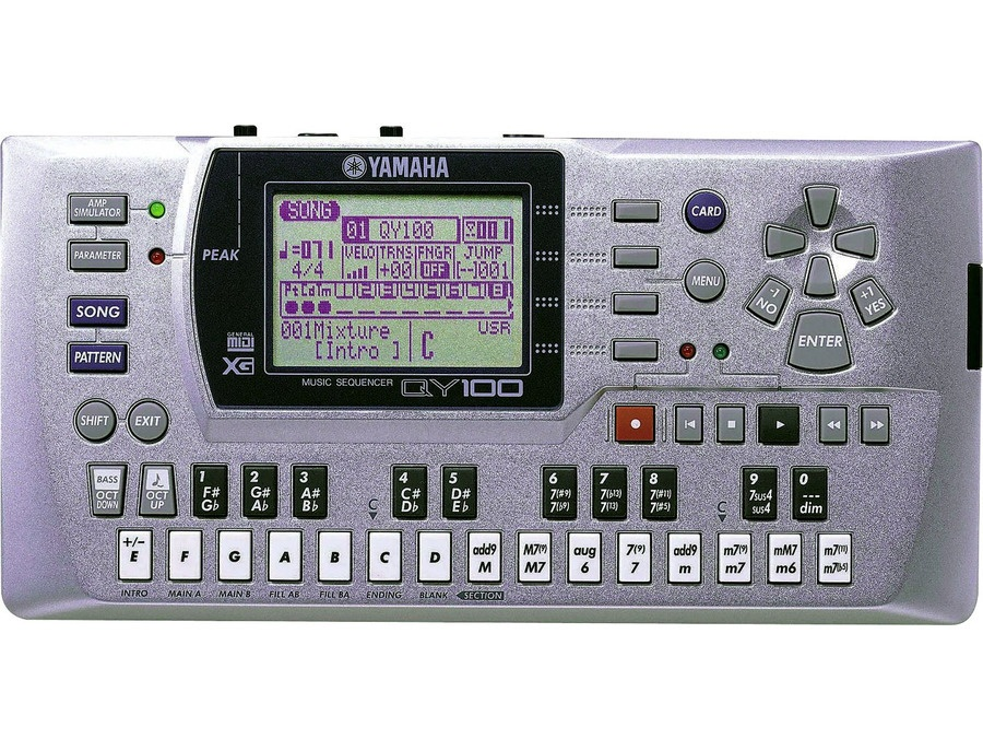 Yamaha qy100 music sequencer xl