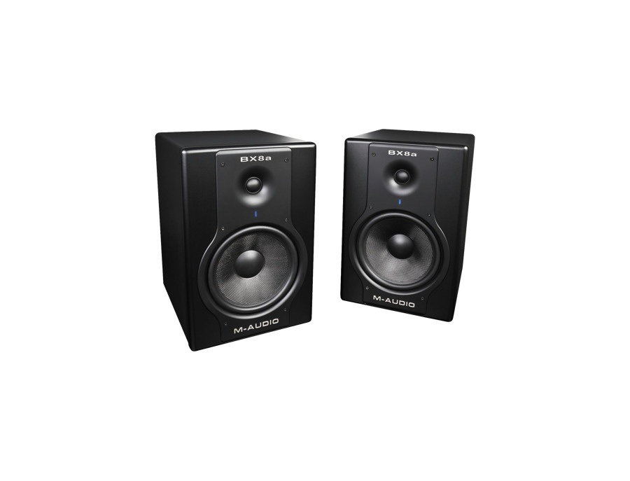 M audio studiophile bx8a deluxe active studio monitor xl