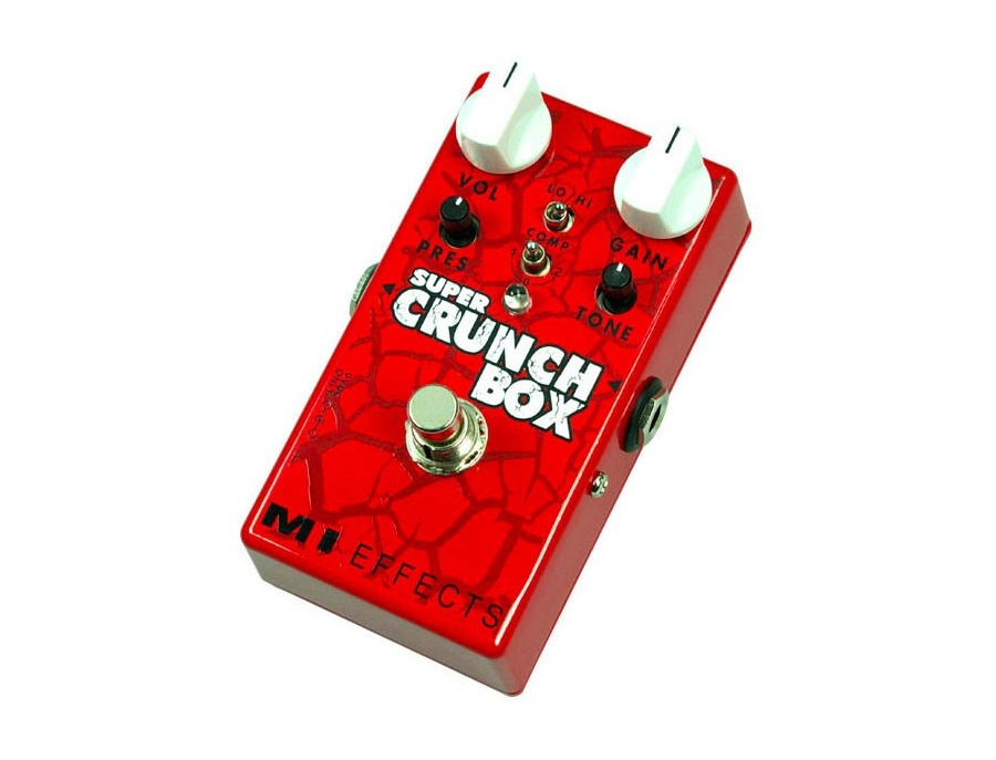 MI Audio Super Crunch Effects Pedal