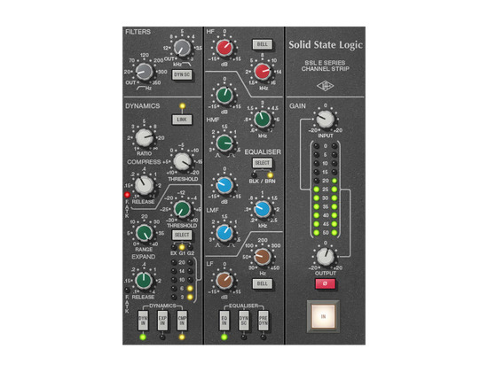 Universal Audio SSL E Channel Strip Plug-In