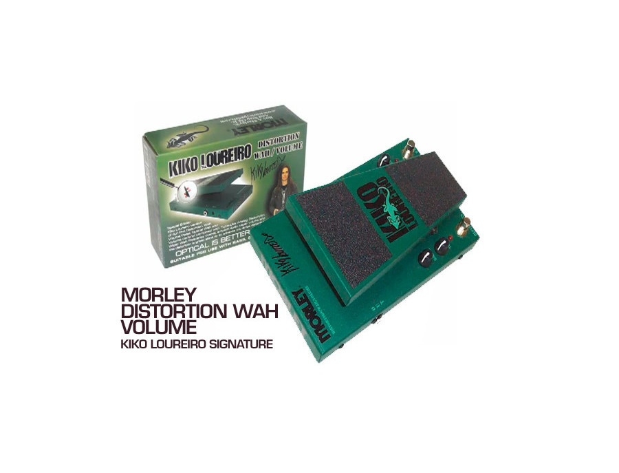 Morley Distortion Wah Volume (Kiko Loureiro Edition)