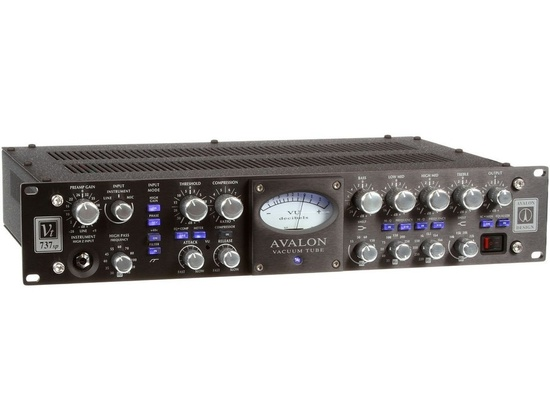 Avalon | VT-700Tube Mono Channel-Strip Microphone/Instrument Preamplifier, Opto-Compressor, and Sweep Equalizer