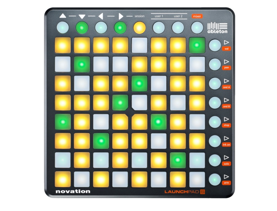 Novation launchpad s usb midi controller for ableton live xl