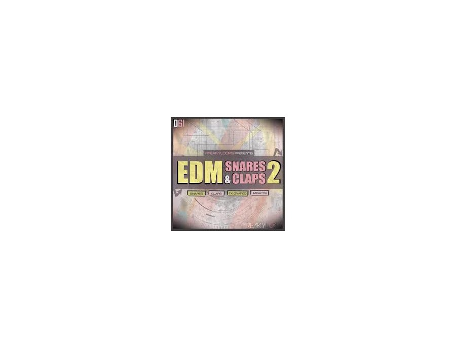 EDM SNARES AND CLAPS VOL.2