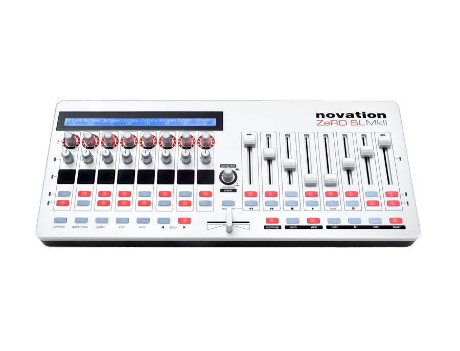 Novation ZeRO SL MkII USB MIDI Control Surface