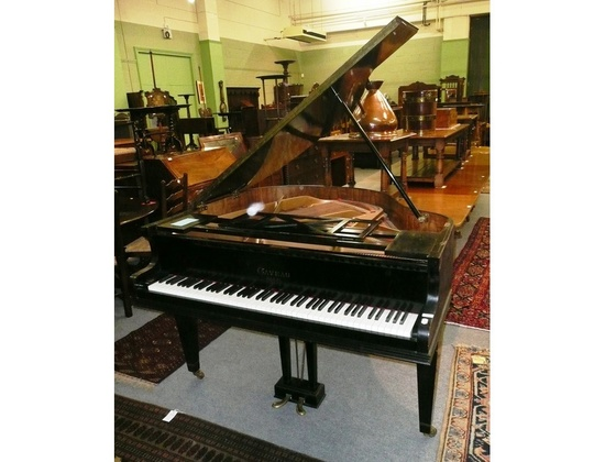 gaveau baby grand piano