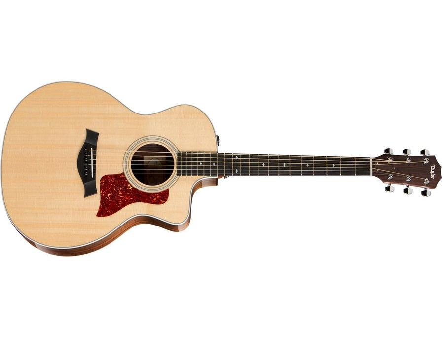 Taylor 214E Deluxe Grand Auditorium Acoustic-Electric