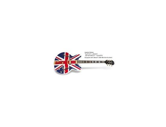 Epiphone Sheraton Union Jack limited
