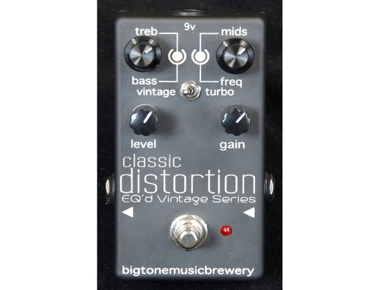 Big tone music brewery eq'd vintage series american distortion