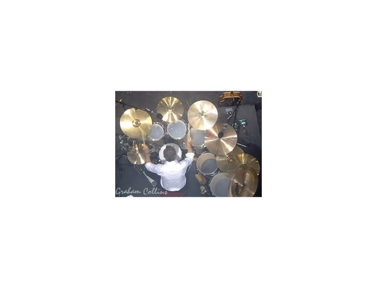 Nick Mason Custon Built Paiste Cymbals