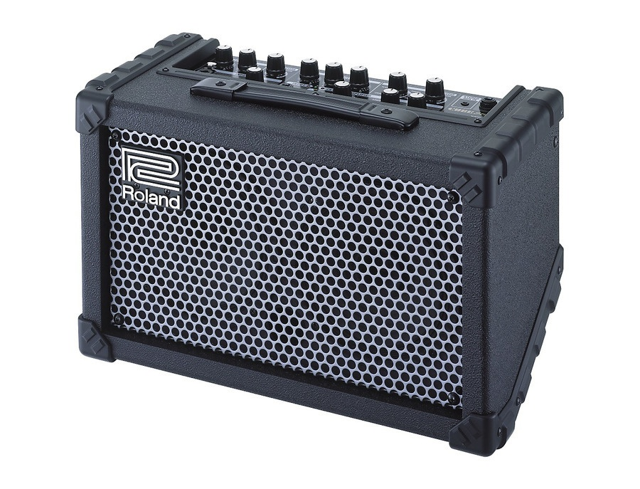 Roland cube street battery powered stereo guitar combo amp xl