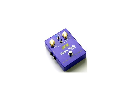 GFS Electronics RetroVerb Classic Reverb effects pedal